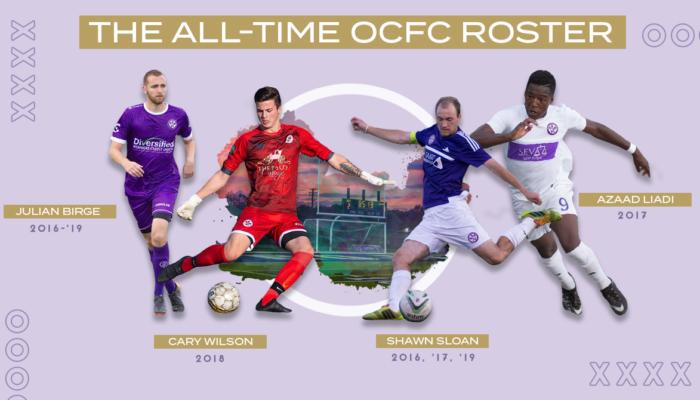 OCFC All-Time Roster