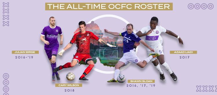All Time OCFC Roster
